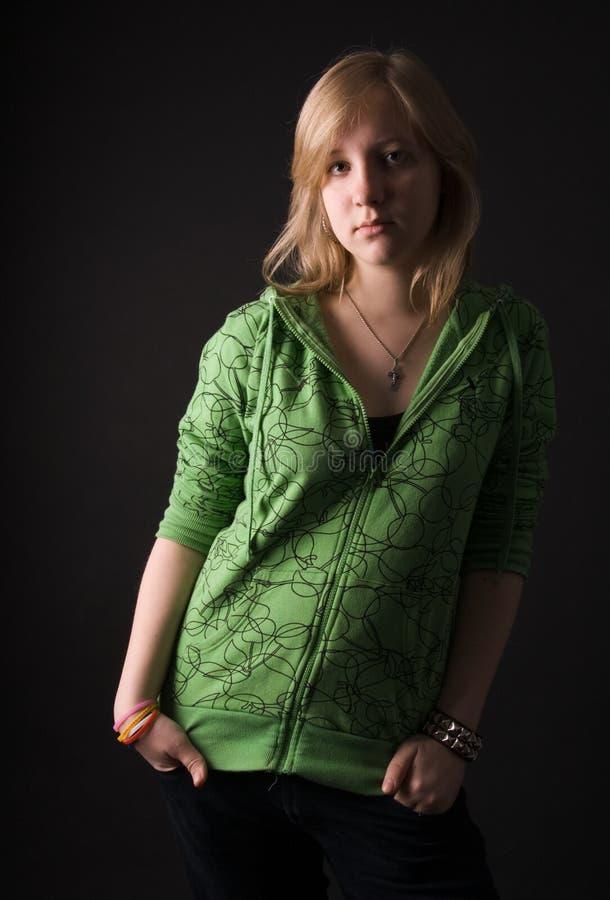 La chica joven. imagenes de archivo