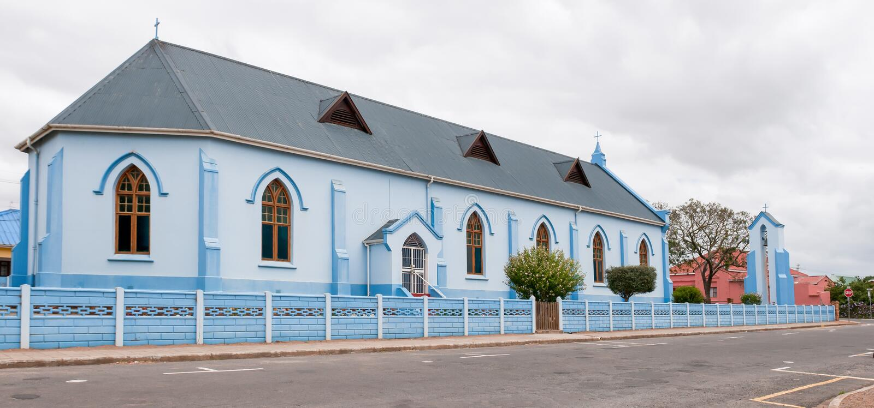 La Chiesa Anglicana di St Andrew, Riversdale fotografia stock