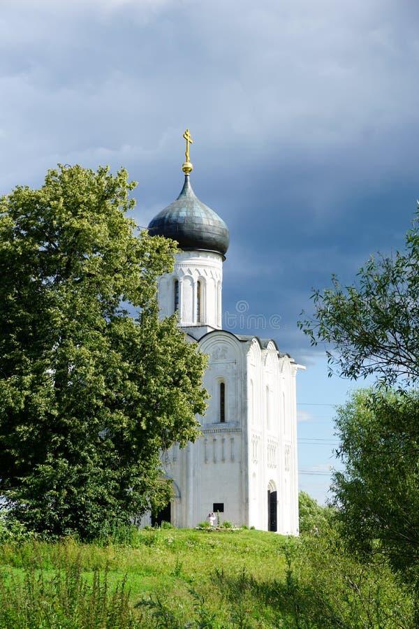 La chiesa antica fotografie stock