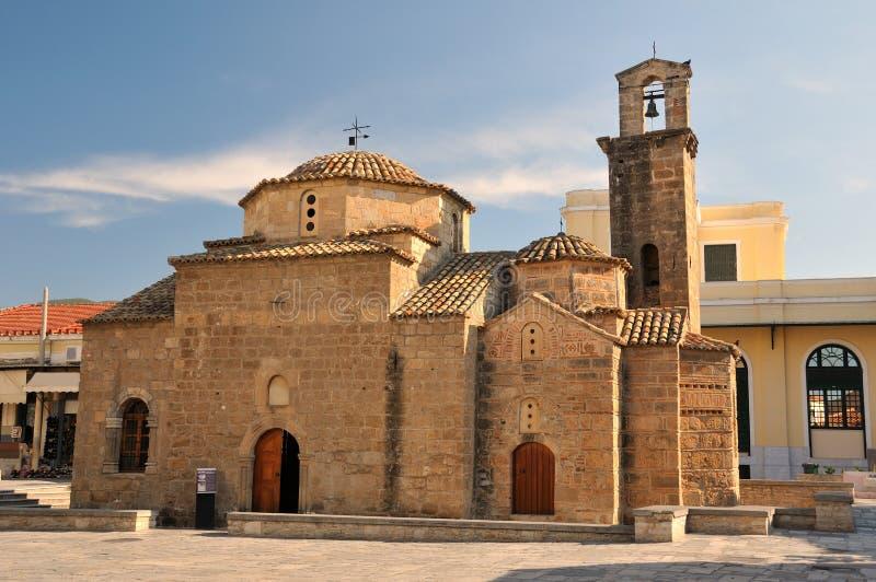 La chiesa degli apostoli santi, Kalamata, Grecia fotografia stock libera da diritti