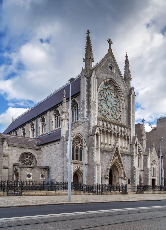 La chiesa del salvatore del san, Dublino, Irlanda fotografia stock