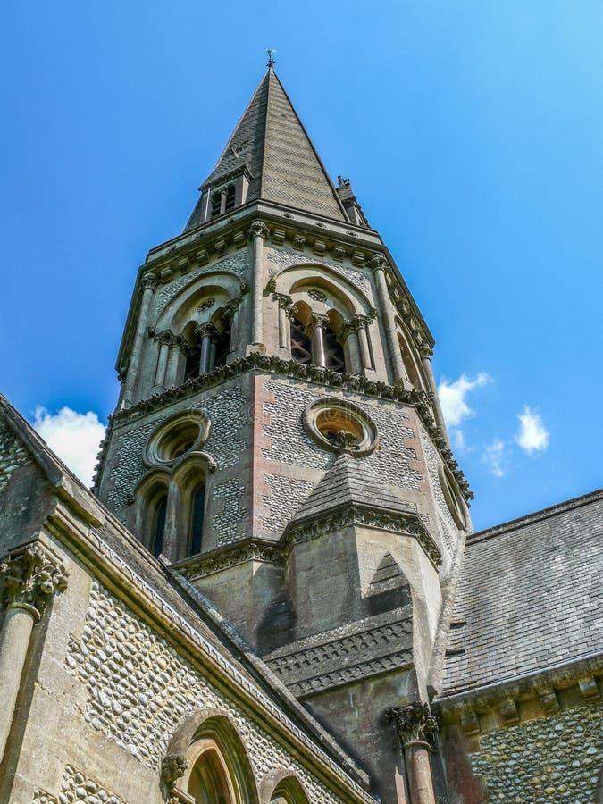 La chiesa del san Barnabas, Ranmore, Dorking, Surrey immagine stock libera da diritti