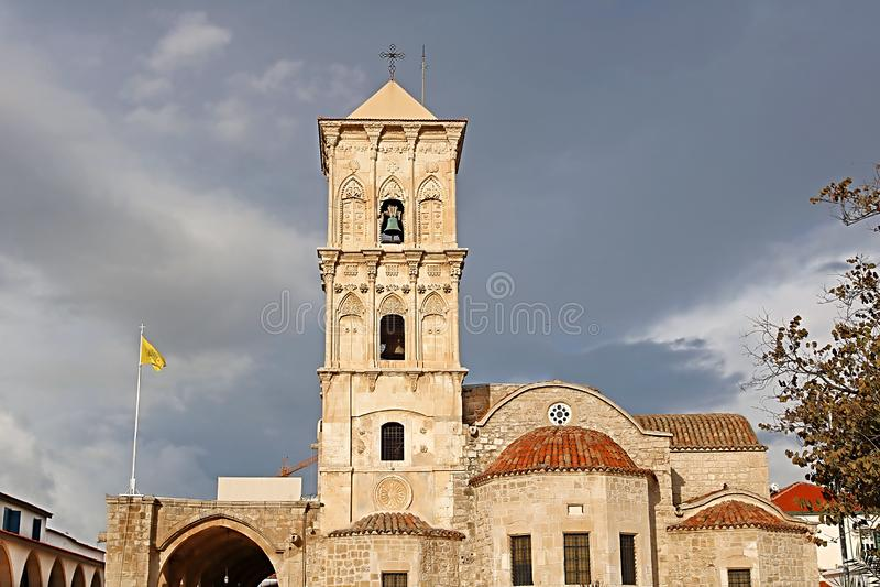 La chiesa del san Lazzaro, una chiesa di secolo di late-9th a Larnaca, Cipro immagine stock