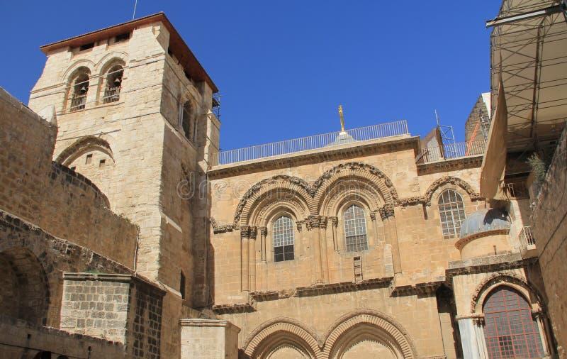 La chiesa del santo sotterra l'entrata immagine stock