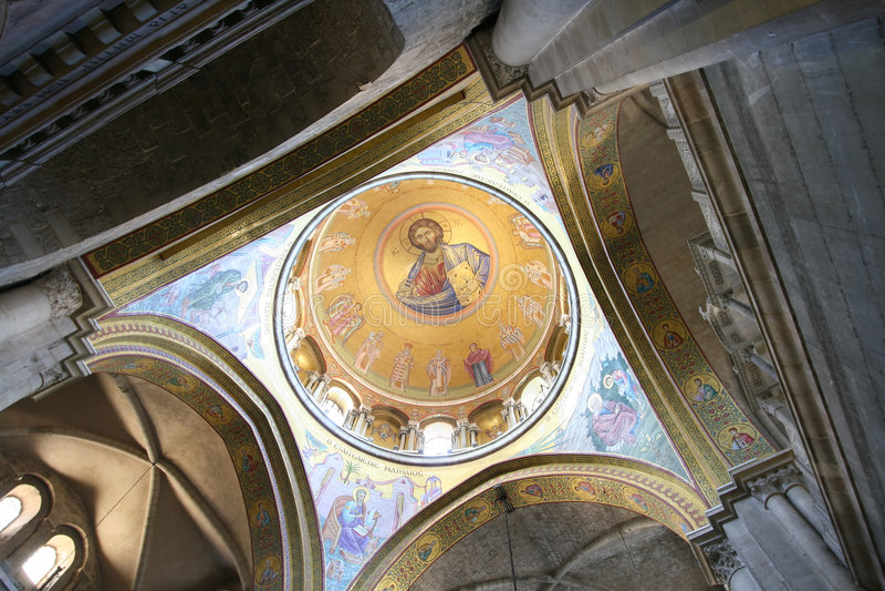 La chiesa del Sepulchre santo fotografie stock libere da diritti