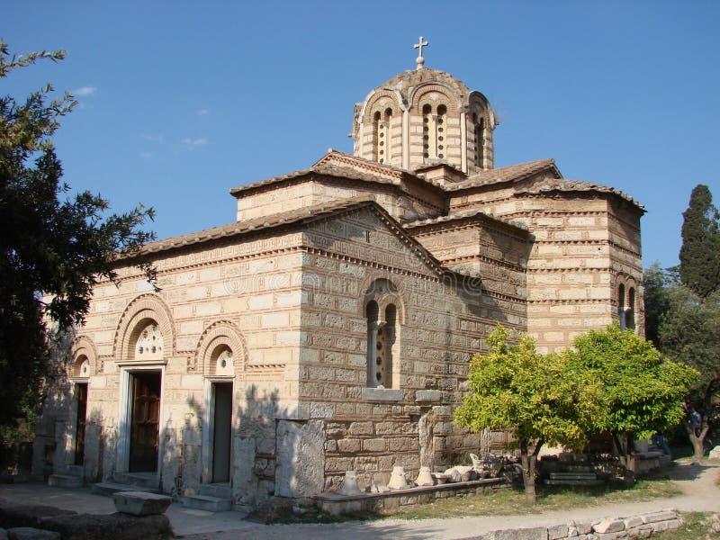 La chiesa dell'apostolo santo fotografie stock libere da diritti