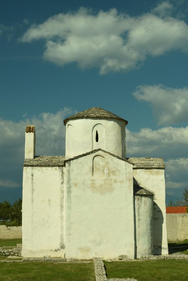 La chiesa dell'incrocio santo immagini stock libere da diritti