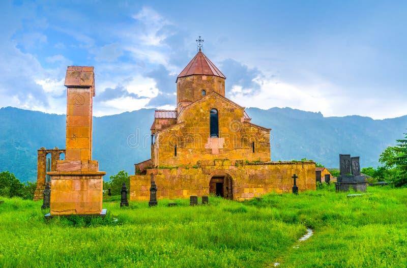 La chiesa della basilica di Odzun fotografia stock libera da diritti