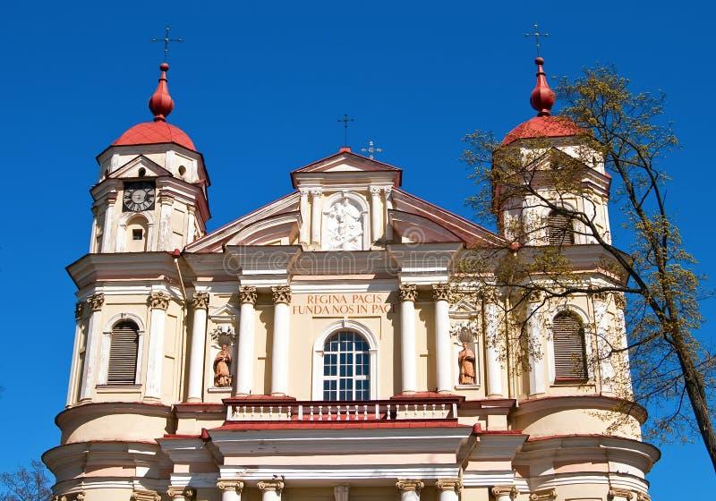La chiesa della st Peter e della st Paul immagini stock libere da diritti