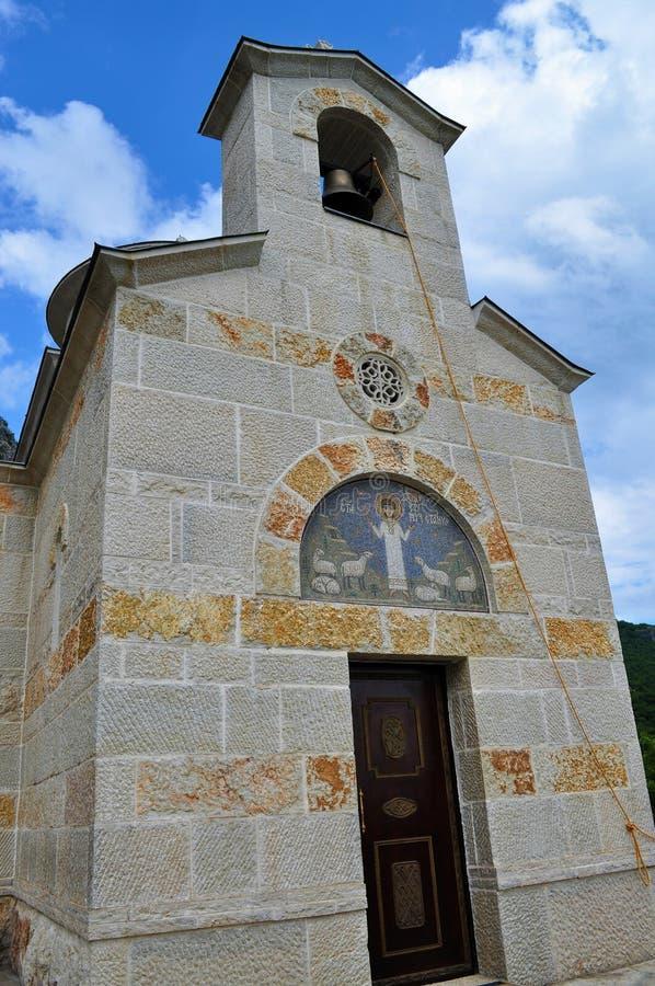 La chiesa della st Stanko - porta principale immagini stock libere da diritti