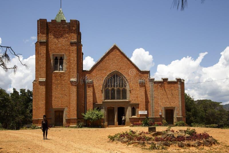 La chiesa di missione di Livingstonia fotografie stock libere da diritti