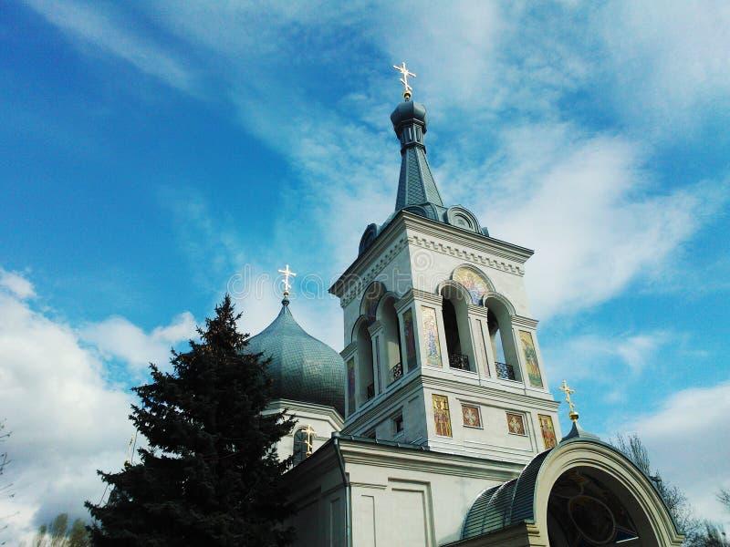 La chiesa di Orthodoxal fotografie stock