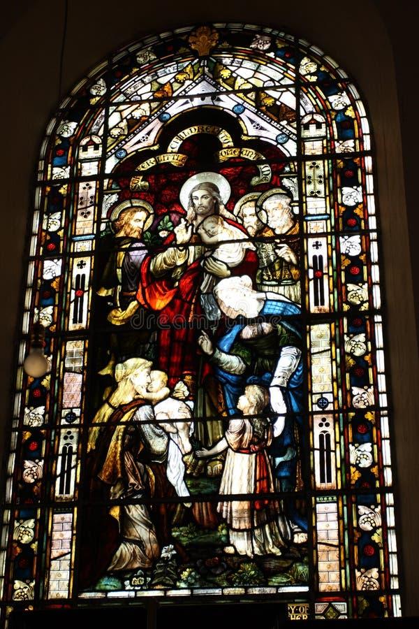 La chiesa di parrocchia di Falmouth di St Peter l'apostolo - Falmouth, Giamaica fotografie stock