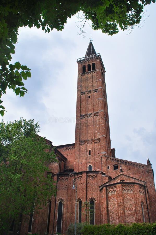 "La chiesa di Sant ""Anastasia a Verona fotografie stock"