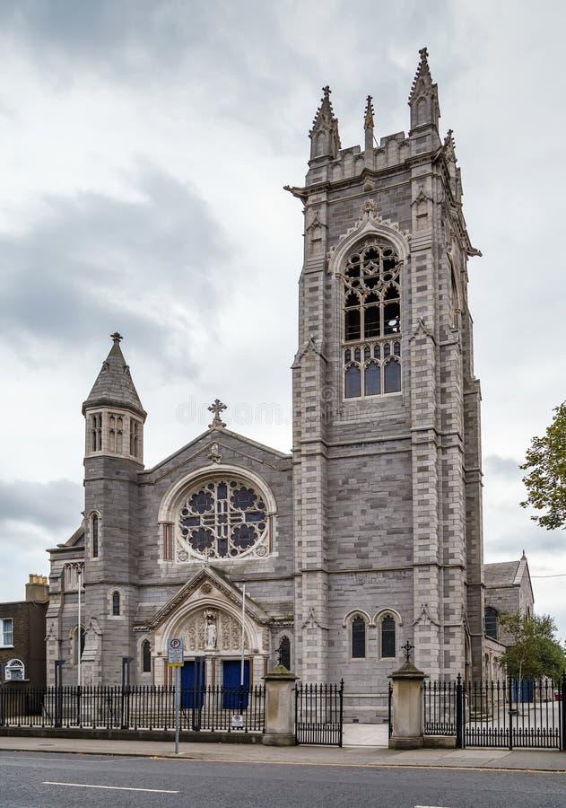 La chiesa di St Mary, Dublino, Irlanda fotografia stock