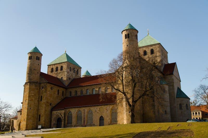 La chiesa di St Michael, Hildesheim fotografia stock libera da diritti