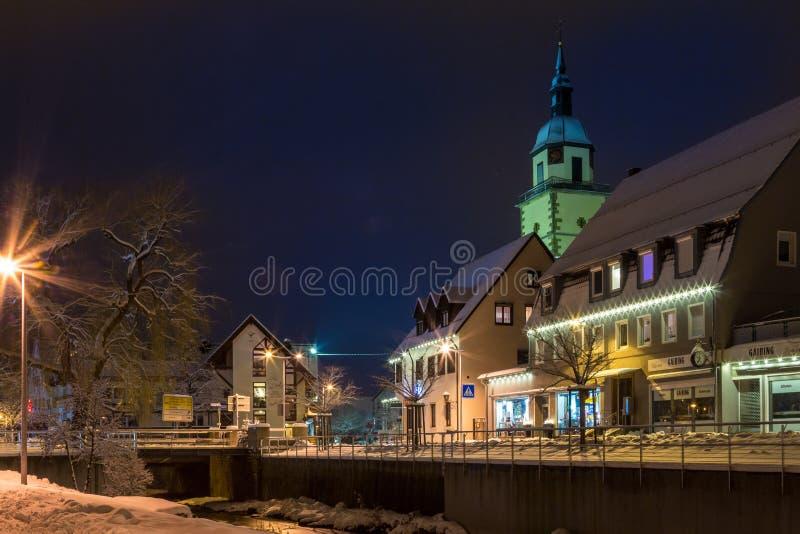 La chiesa di St Peter, Weilheim un der Teck, Germania immagini stock