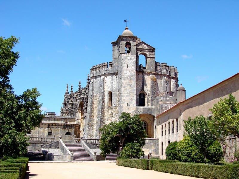 La chiesa di Templar a Tomar fotografia stock