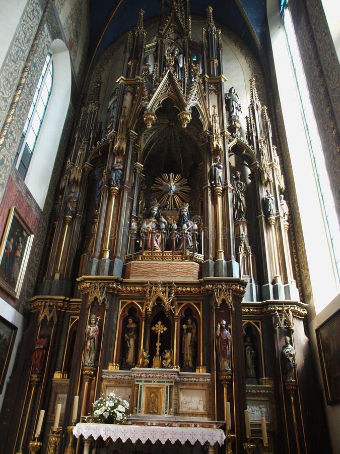 La chiesa di trinità santa fotografie stock libere da diritti