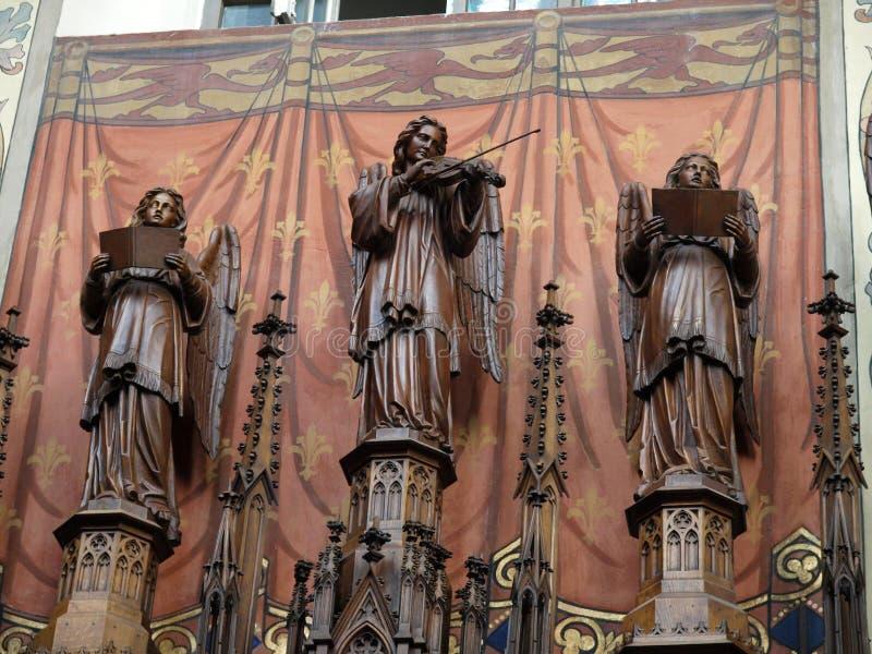 La chiesa di trinità santa immagine stock