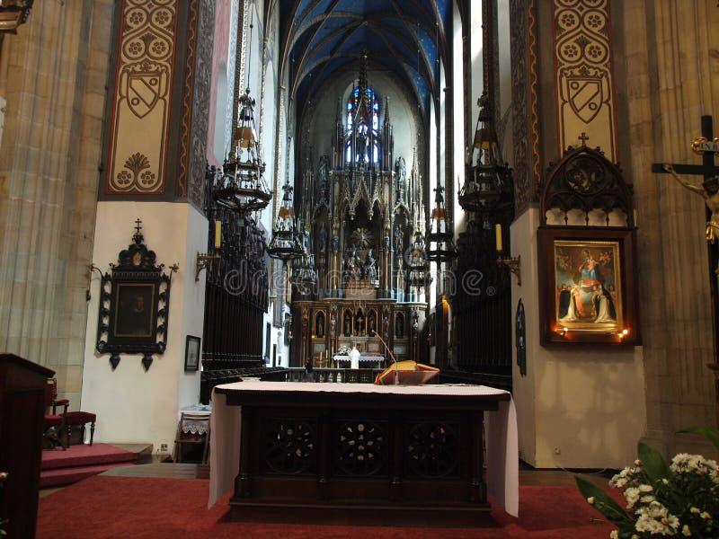 La chiesa di trinità santa fotografia stock
