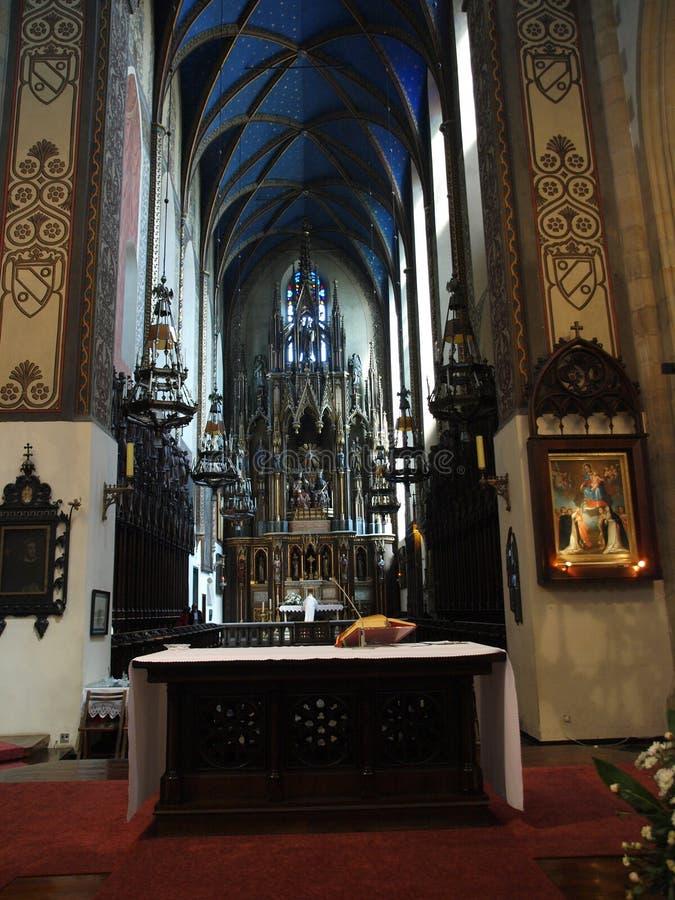 La chiesa di trinità santa fotografia stock libera da diritti