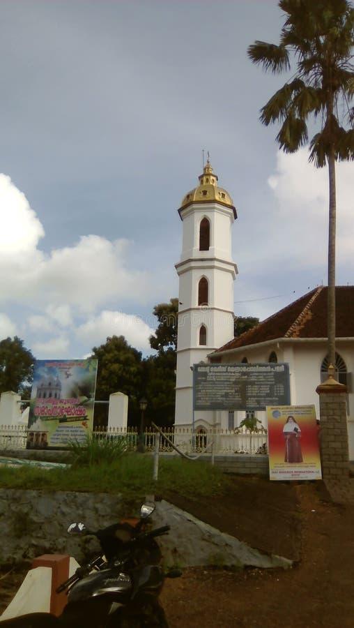La chiesa metropolitana di St Mary in Changanacherry Kerala immagine stock libera da diritti