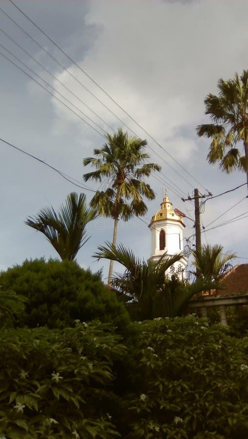 La chiesa metropolitana di StMary in Changanacherry, Kerala fotografia stock libera da diritti