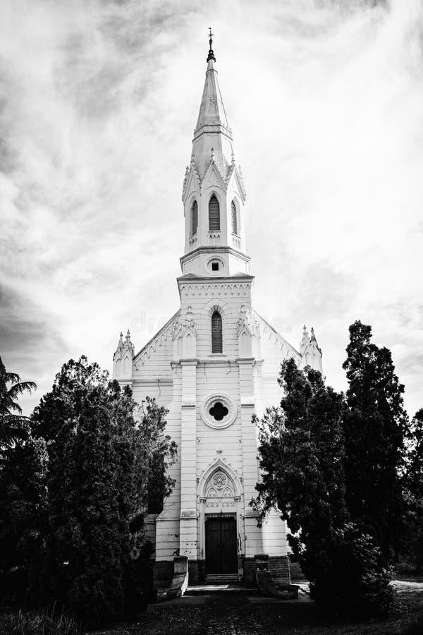La chiesa riformata è una chiesa di denominazione protestante dentro in Zrenjanin immagine stock libera da diritti