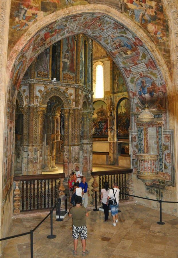 La chiesa rotonda del convento fotografia stock libera da diritti