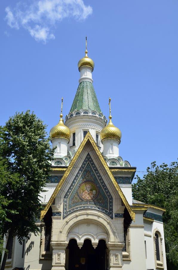 La chiesa russa immagine stock
