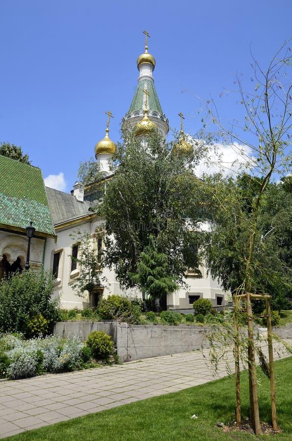 La chiesa russa fotografia stock libera da diritti