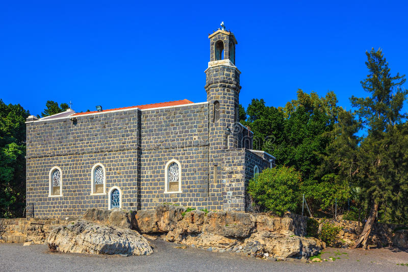 La chiesa santa immagine stock
