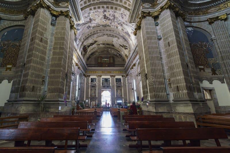 La chiesa storica - Iglesia de Nuestra Senora de Loreto immagini stock libere da diritti