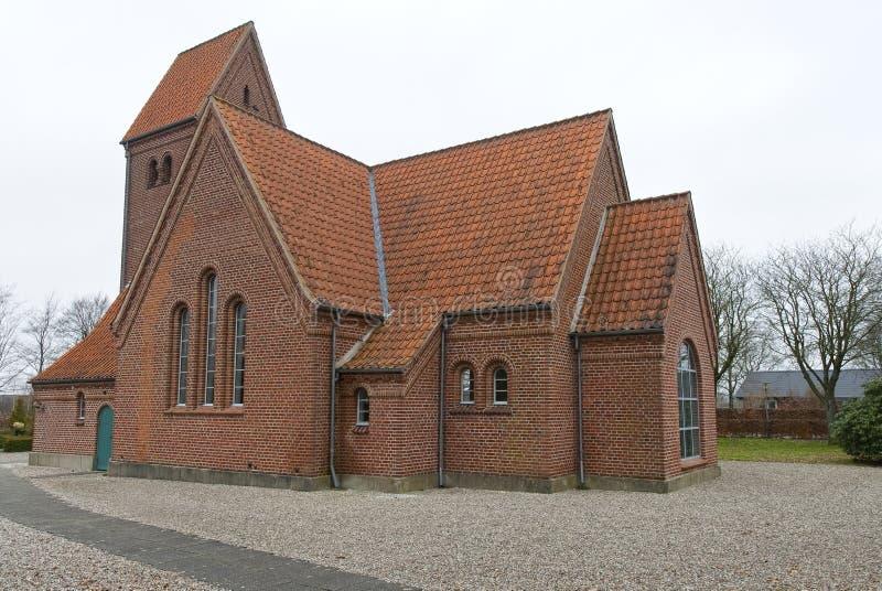 La chiesa a Uhre immagini stock