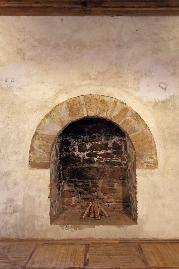 La chimenea vieja foto de archivo libre de regalías