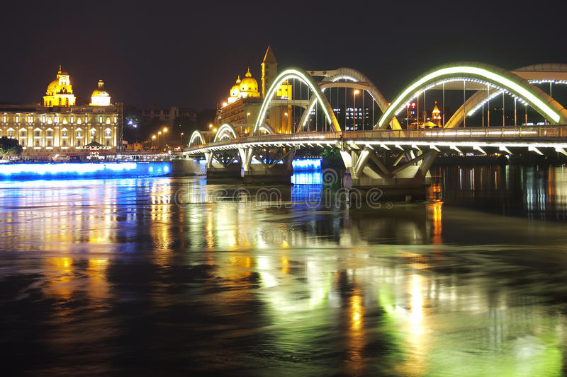 La Chine Fuzhou urbain photos libres de droits