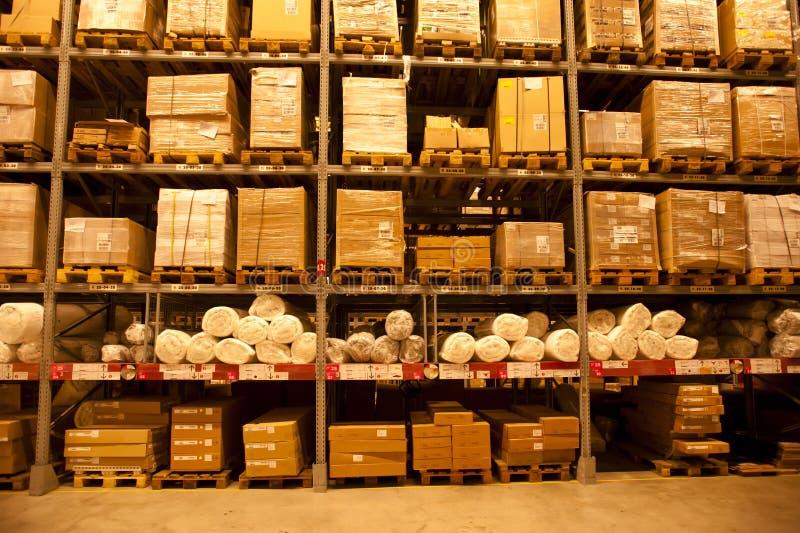 LA CHINE : IKEA entreposé à Chengdu image stock