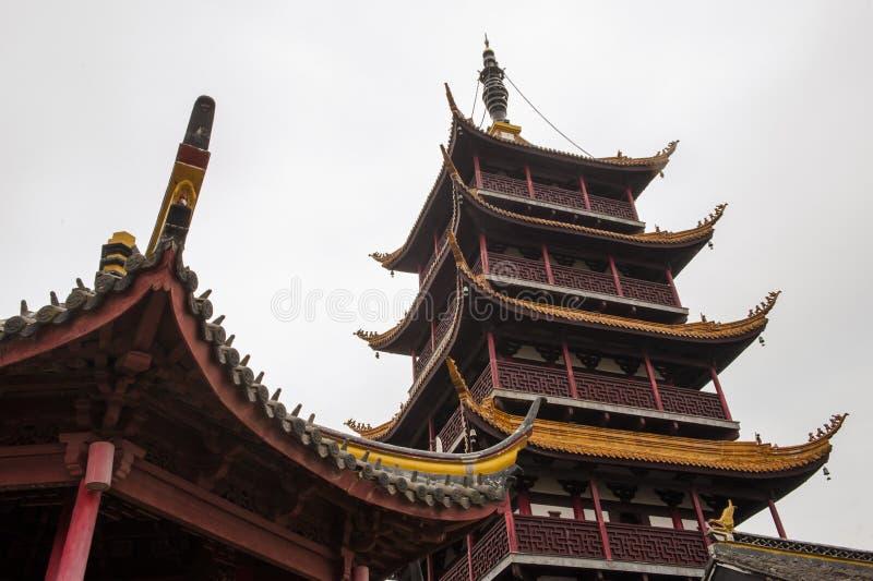 La Chine Nantong Wolf Mountain Natural Scenic Area images libres de droits