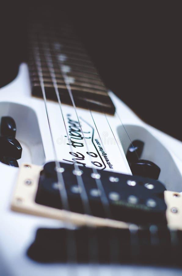 La chitarra del gitante fotografia stock libera da diritti