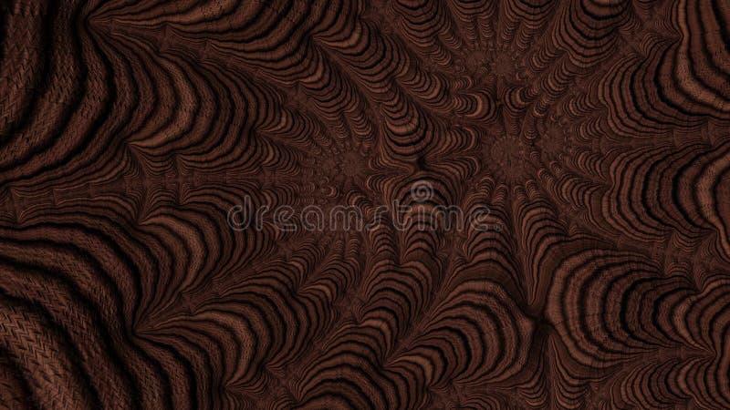 La ciencia de fractales - diseño 5 fotos de archivo