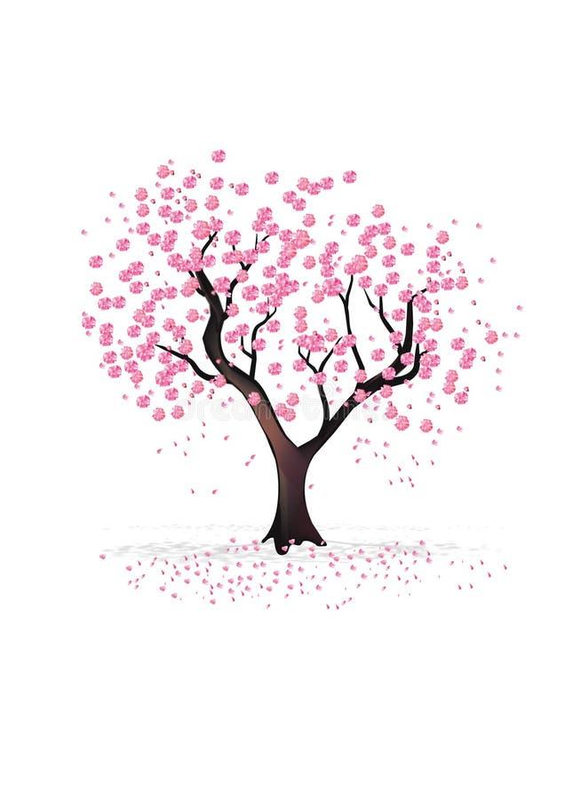La ciliegia orientale illustrazione di stock