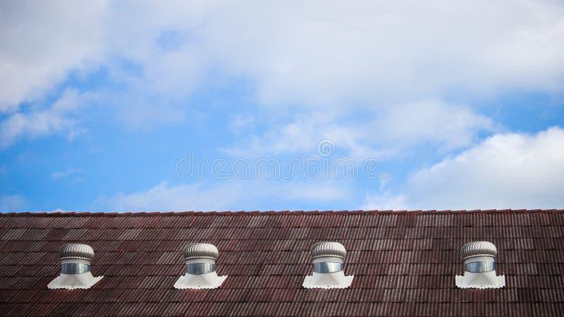 La cima del cielo del loof immagine stock libera da diritti