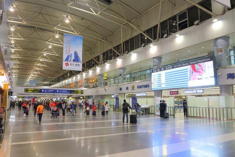 La Cina: Aeroporto internazionale del capitale di Pechino fotografia stock