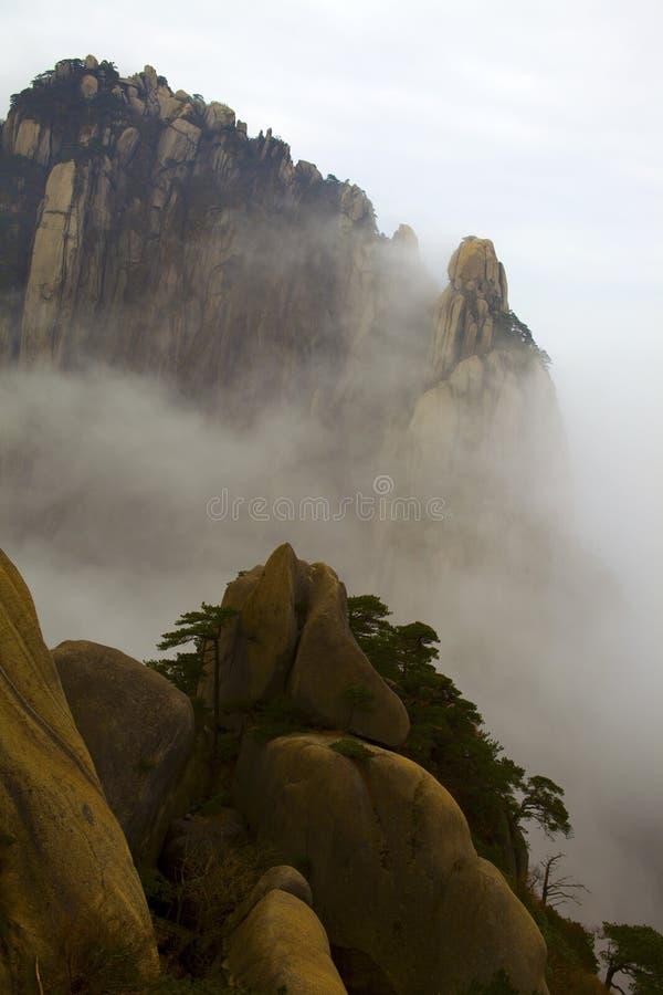 La Cina Huangshan fotografia stock