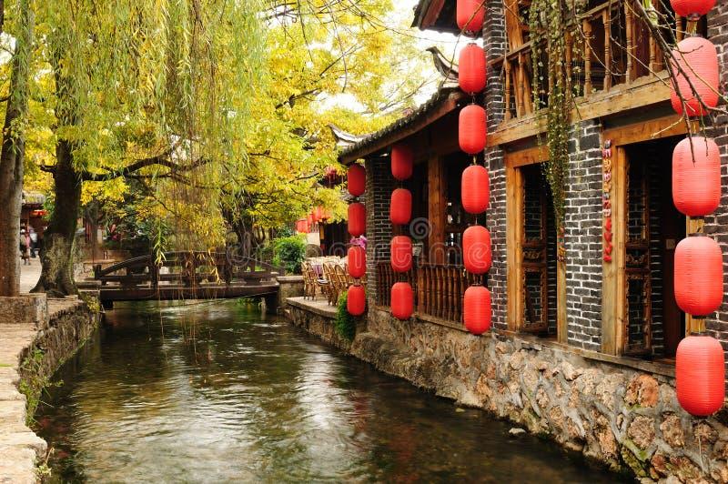 La Cina - Lijiang fotografia stock