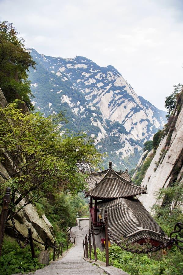 La Cina: montagna hua fotografia stock