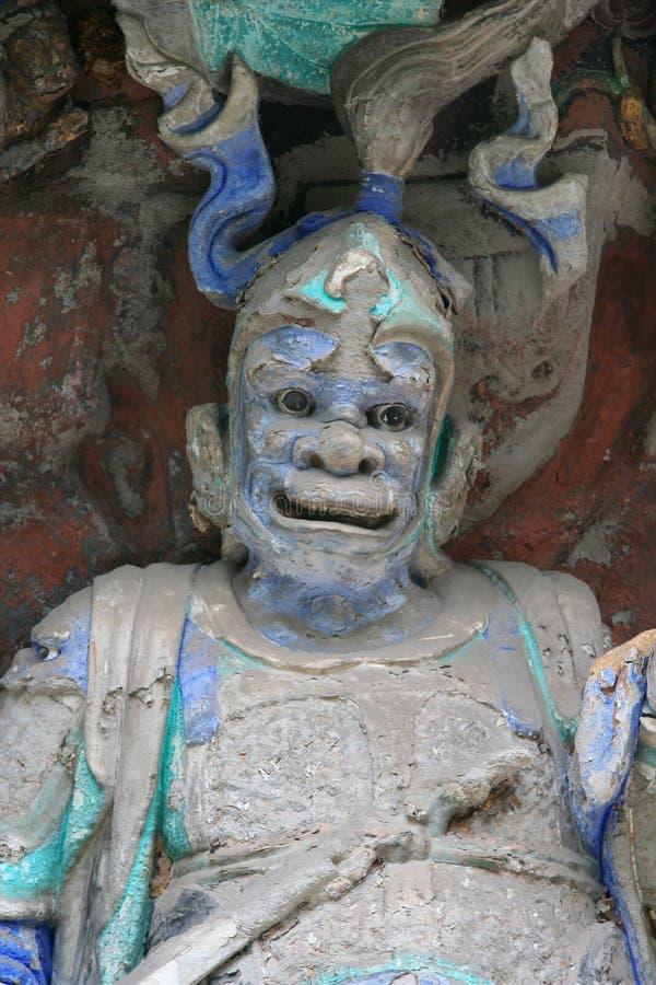 La Cina: Sculture di Dazu immagine stock libera da diritti