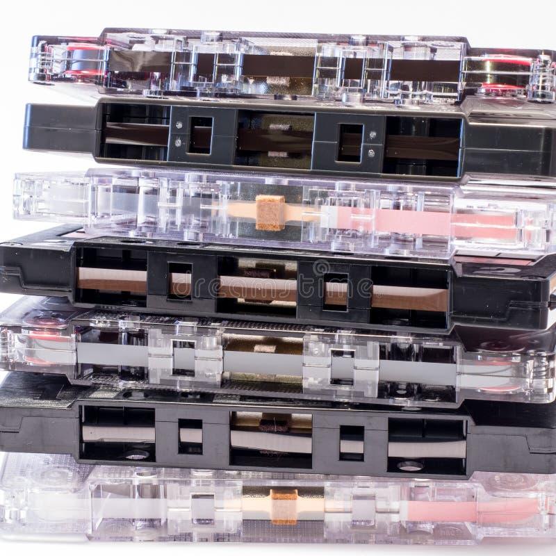 La cinta de casetes foto de archivo libre de regalías