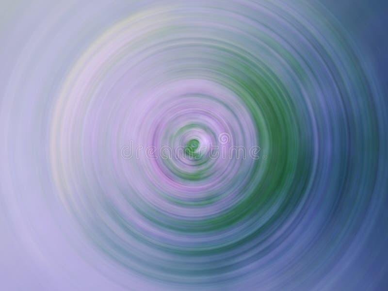 La circular geométrica brillante abstracta coloreó el fondo en colores pastel que consistía en varias sombras fotografía de archivo